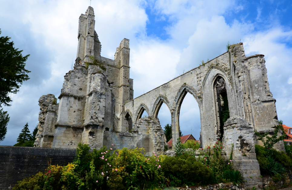 Ablain_Saint_Nazaire_church_in_ruins