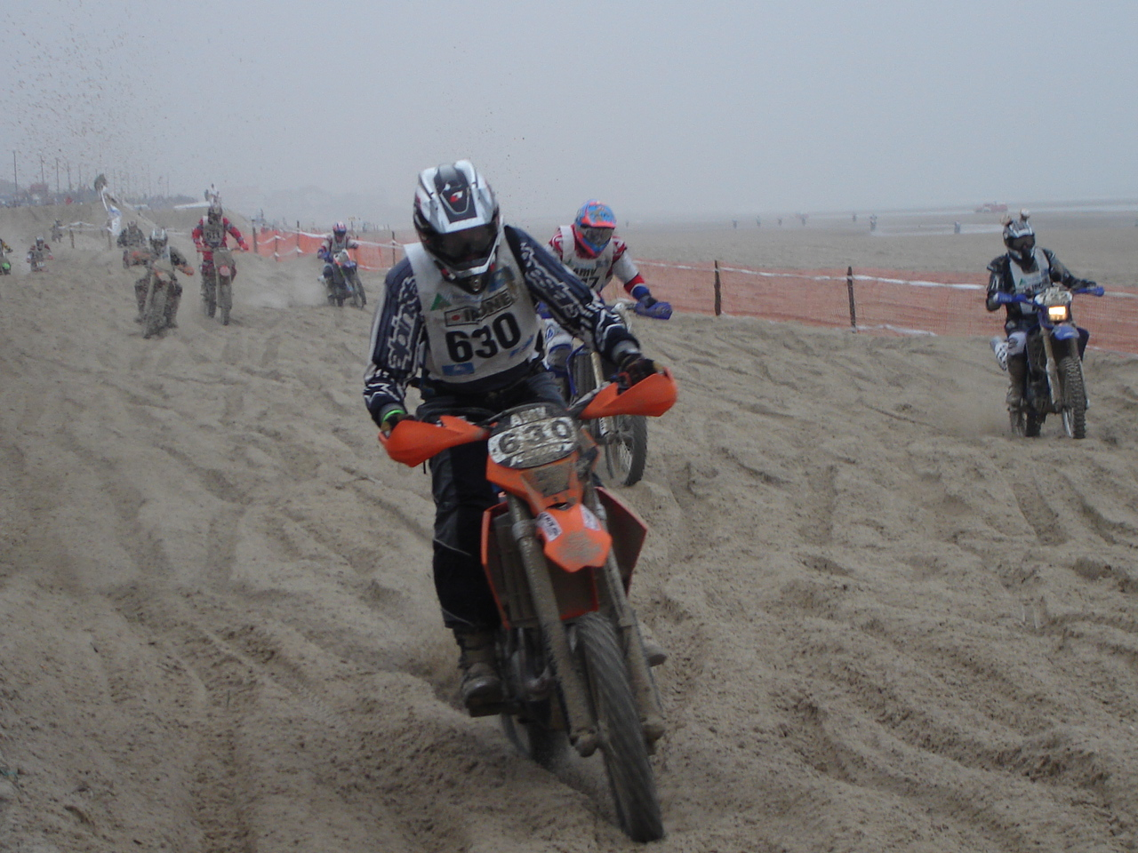 The Enduropale in Le Touquet