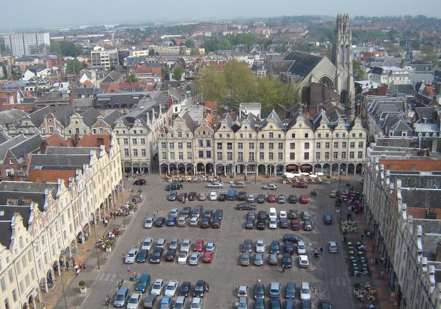 Arras famous squares