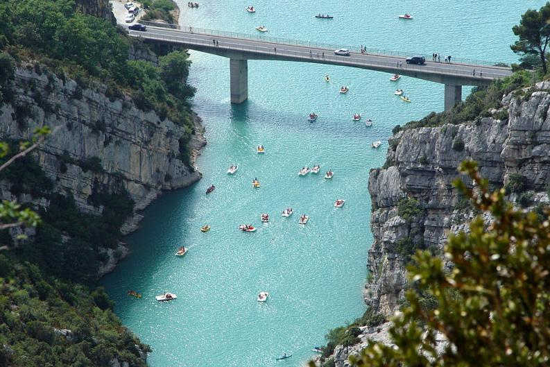 Gorges du Verdon south France holiday destination