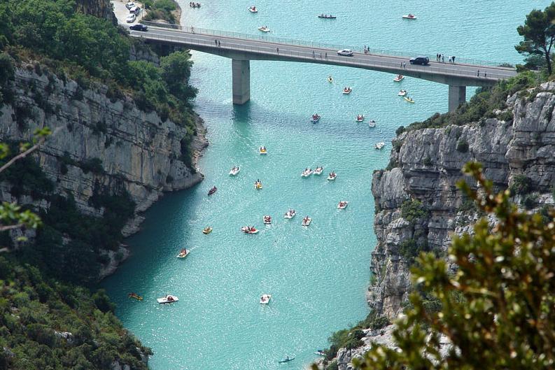 Gorges du Verdon south France holiday destination