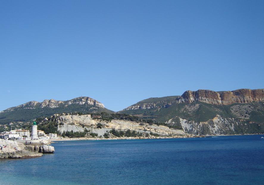 Cassis (Var department) south east France