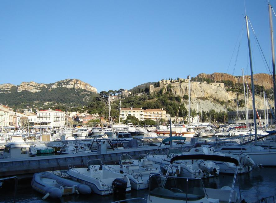 Cassis (Var department) south east France