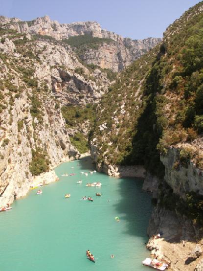 Gorges du Verdon France holiday destination