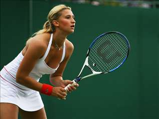 Tatiana Golovin French tennis player