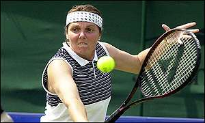 Nathalie Tauziat French tennis player