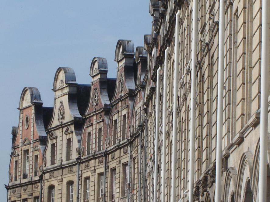 Houses in Arras