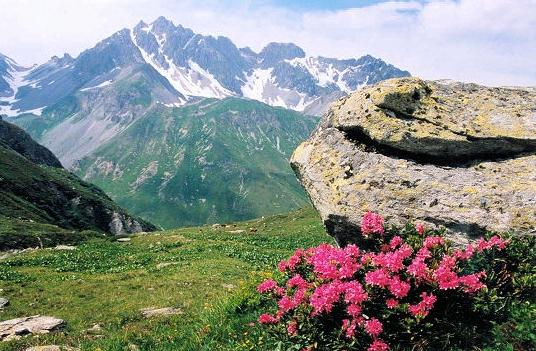 Vanoise National park France