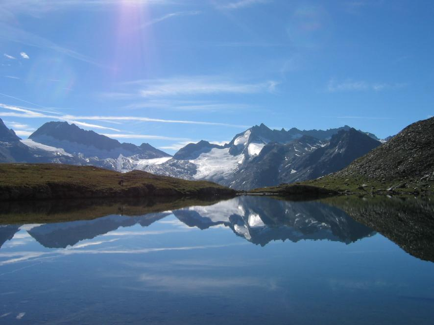 Vanoise National park south France
