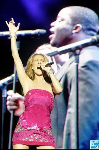 Celine Dion in Arras