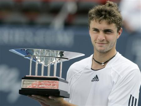 Gilles Simon famous French tennis player