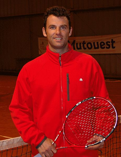 Marc Gicquel famous French tennis player