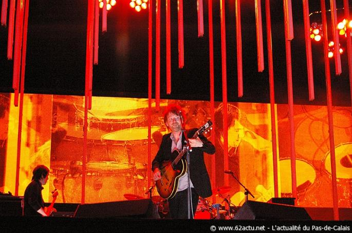 Radiohead Arras Main Square Festival