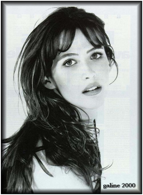 Sophie Marceau famous French actress