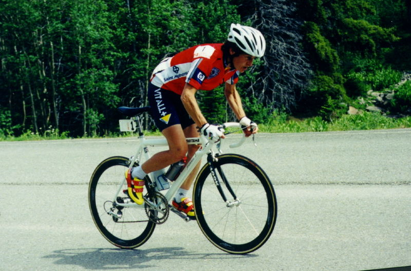 Jeannie Longo famous French female racing cyclist