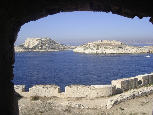 The castle of If in Marseille (south east France)