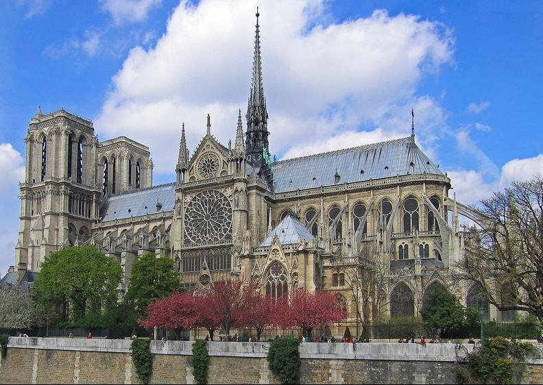 Arras france tourism guide notre dame de paris cathedral for Exterior notre dame