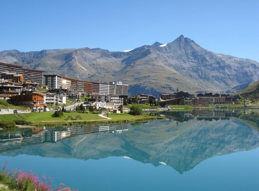 Tignes France  city photos : Arras France Tourism Guide » The lake of Tignes in the Savoie ...