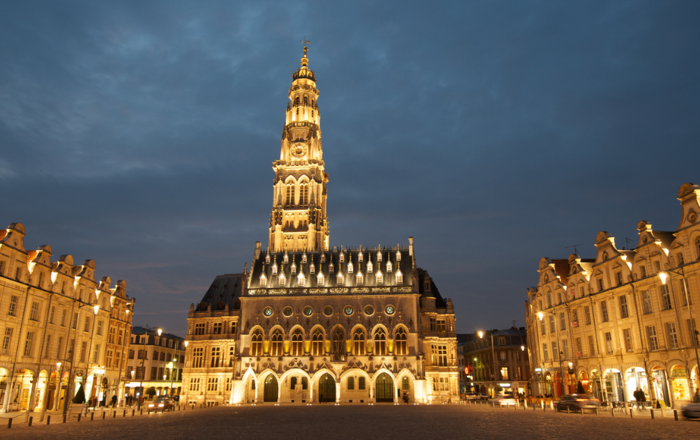 Arras_Place_des_héros_November