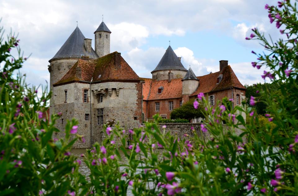 Olhain_castle_northern_France