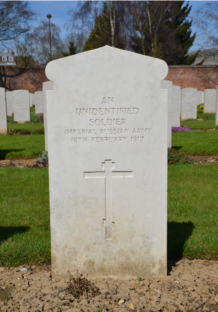 Arras_Memorial_cemetery_unidentified_soldier